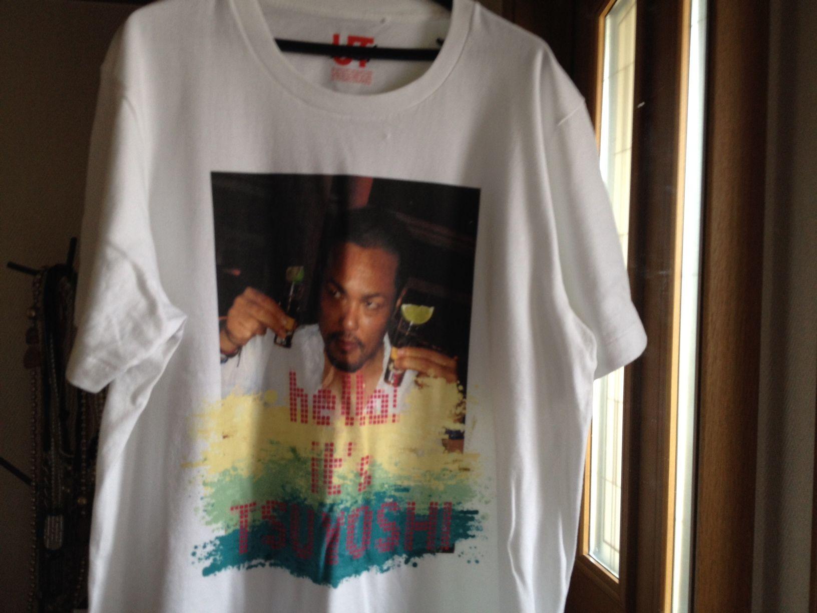 ユニクロの「UTme!」で作ったTシャツ