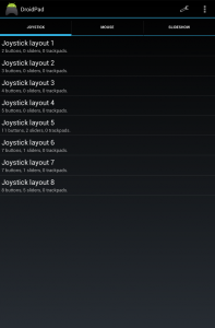 joystick スクリーンショット